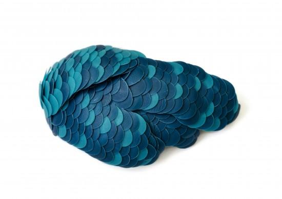 Peacock, brooch, Karin Roy Andersson