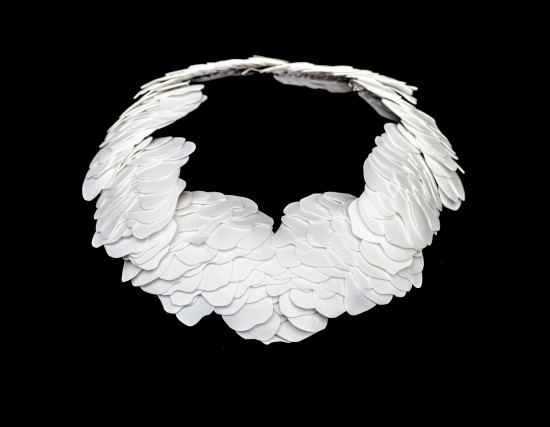 Sastrugi, necklace 2017, Karin Roy Andersson
