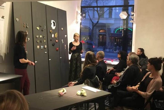 AJF Award artist talk Platina
