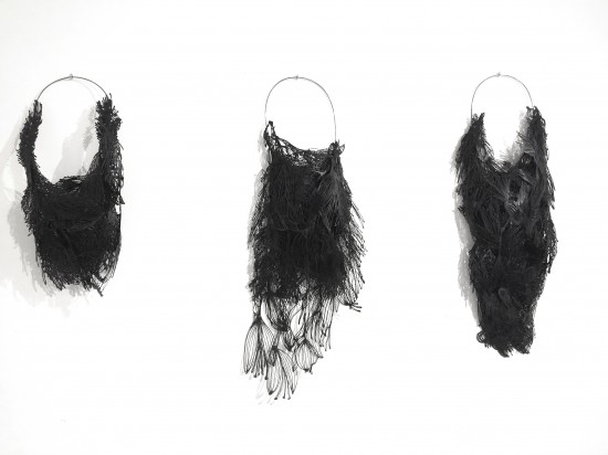 What has the bird done? Neckpieces by Sofia Björkman